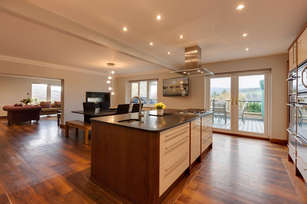 Open Plan Living Kitchen